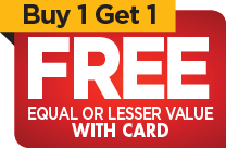 Select Vitamins & Supplements, Buy One Get One